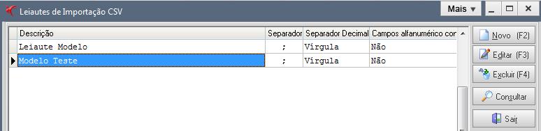 """Faça importação de planilhas com extensão """".csv"""" para o sistema Fortes Contábil. 2"""