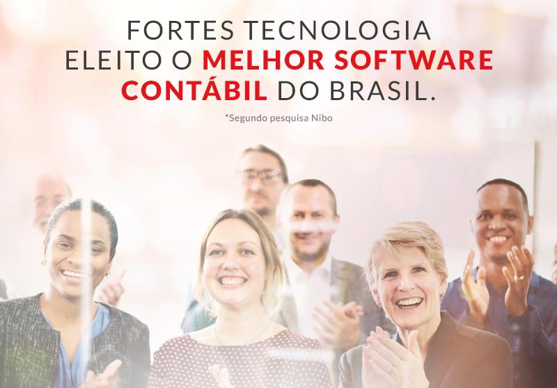 Fortes Tecnologia é eleita a empresa com o melhor software contábil do Brasil 1