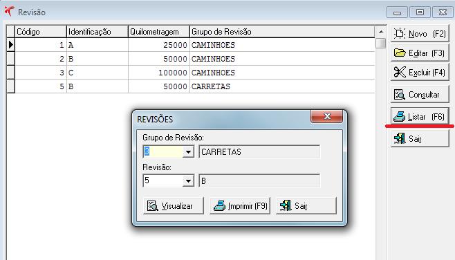 Facilidade na busca de Grupo de Revisão através de relatório (Fortes Frota versão 2.309.88) 1