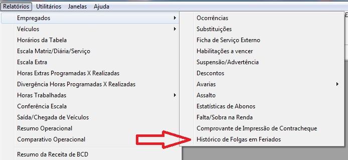 Gestão de transporte: novas funcionalidades na tela de Revezamento Mensal (Versão 2.311.399) 2
