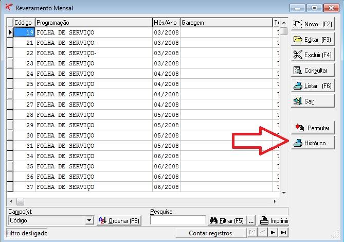 Gestão de transporte: novas funcionalidades na tela de Revezamento Mensal (Versão 2.311.399) 3
