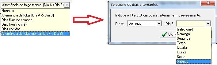 Gestão de transporte: novas funcionalidades na tela de Revezamento Mensal (Versão 2.311.399) 6