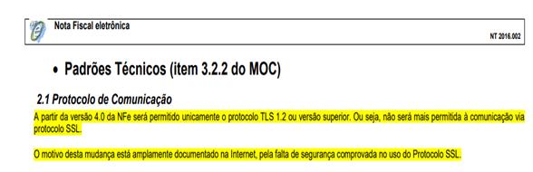 Nota Fiscal Eletrônica 4.0: entenda as exigências para os sistemas operacionais 2