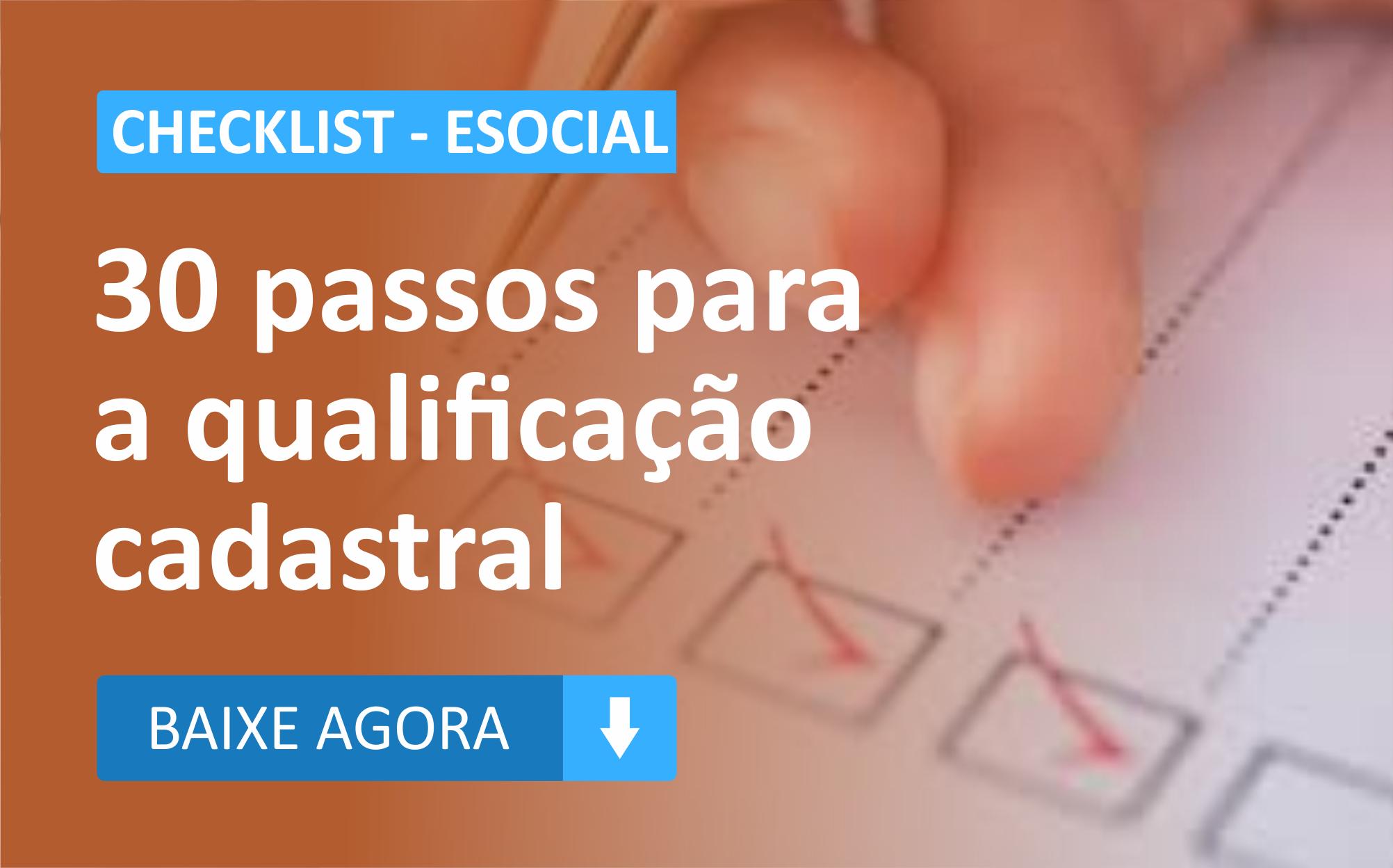 Checklist eSocial Banner Blog Fortes Tecnologia