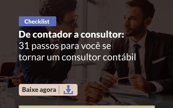 Baixe o checklist e saiba como ser um consultor contador!