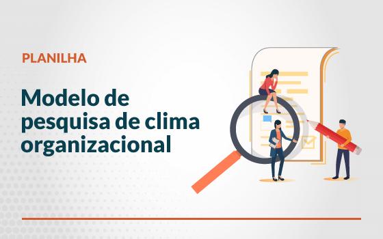 Fortes tecnologia modelo de pesquisa de clima organizacional