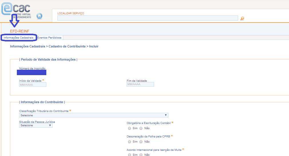 Portal Web da EFD-REINF: Tudo que você precisa saber! 2