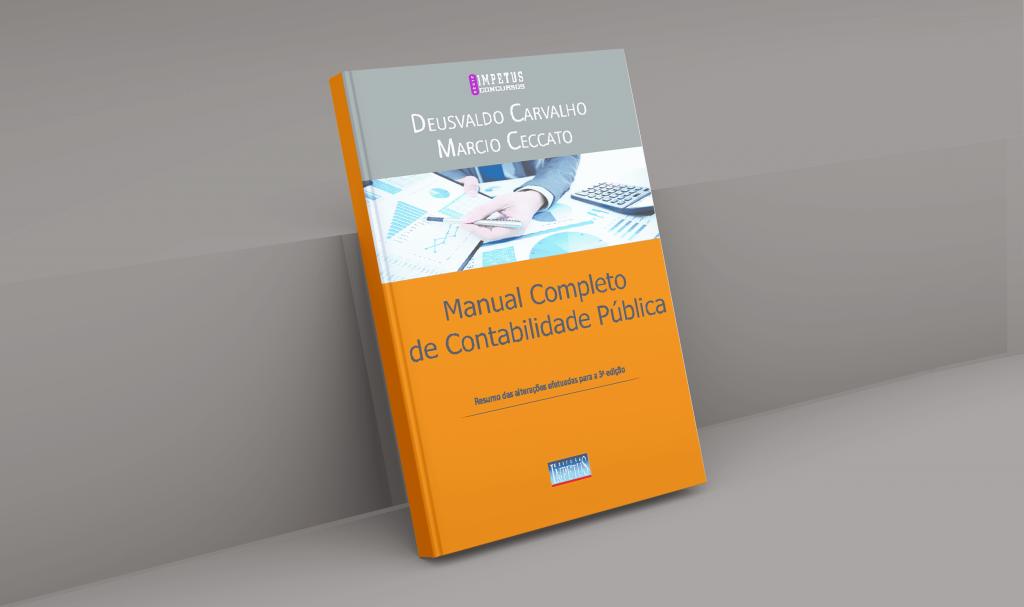 livros de contabilidade manual completo da contabilidade publica
