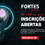 Fortes Summit 2021: o maior evento online de tecnologia contábil e gestão empresarial do Brasil.